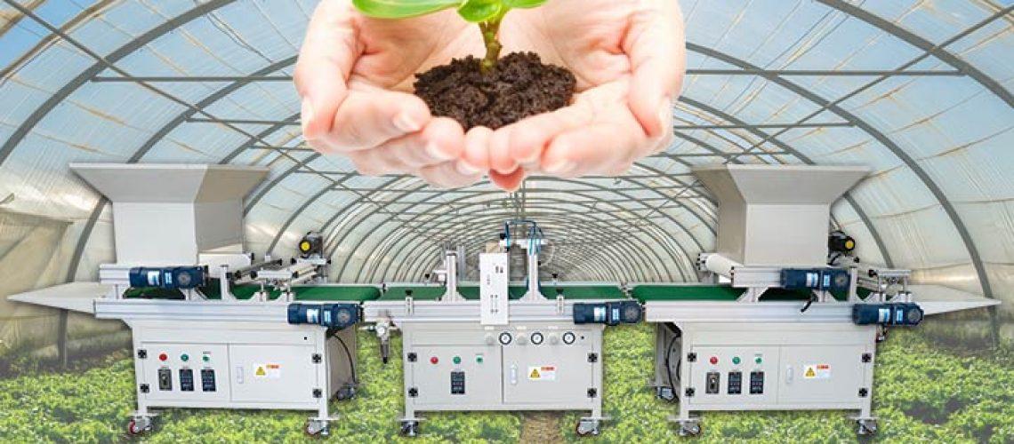 automatic nursery seeding machine